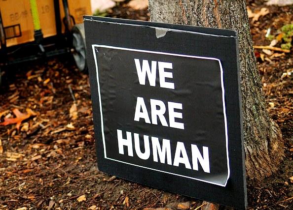 Ferguson - we are human